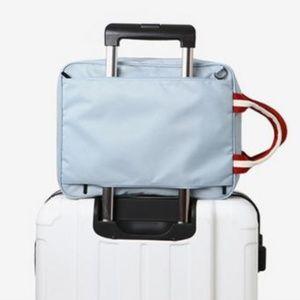 Handbags - NEW Travel Luggage Bag (Light Blue/Navy Blue)